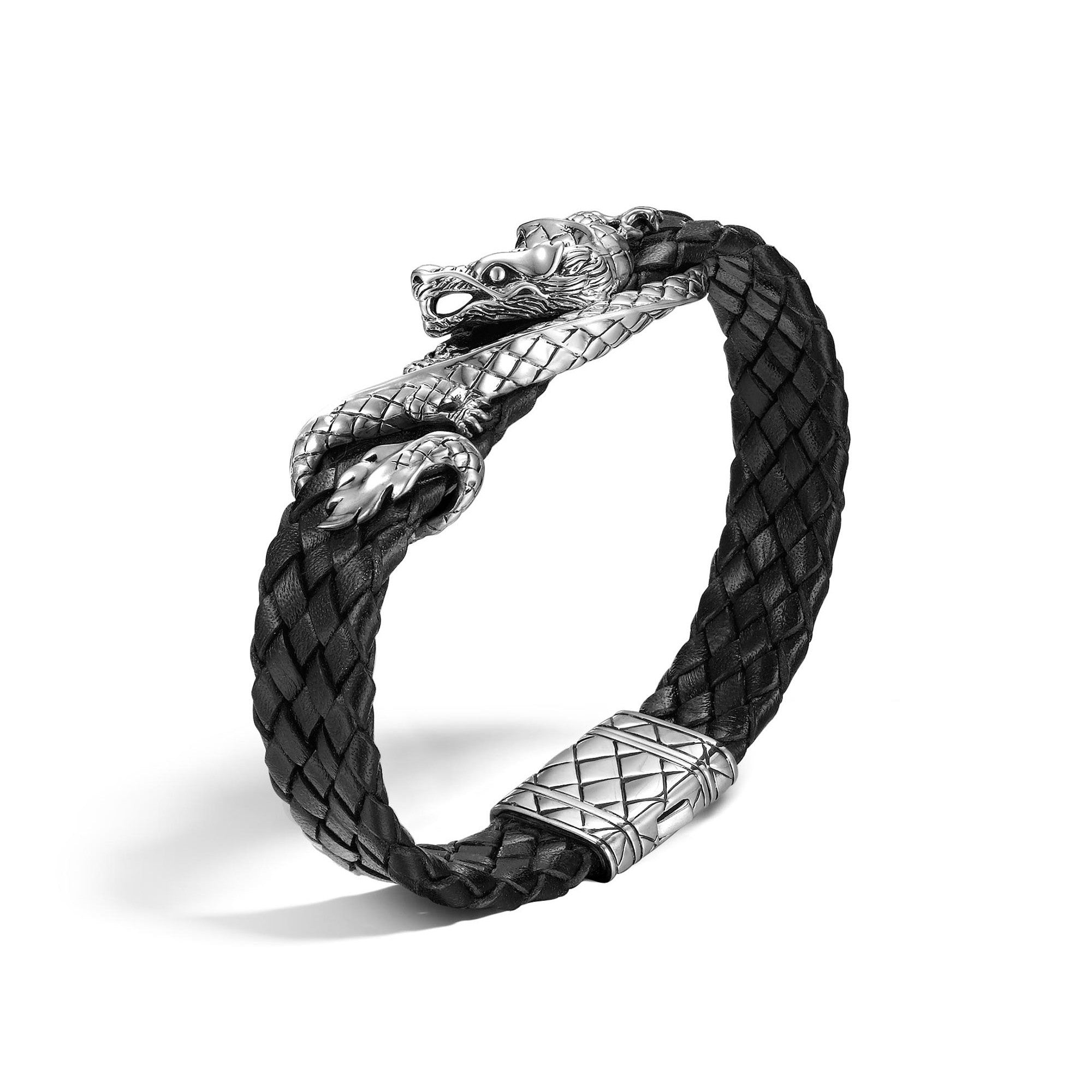 Legends Naga Woven Leather Bracelet