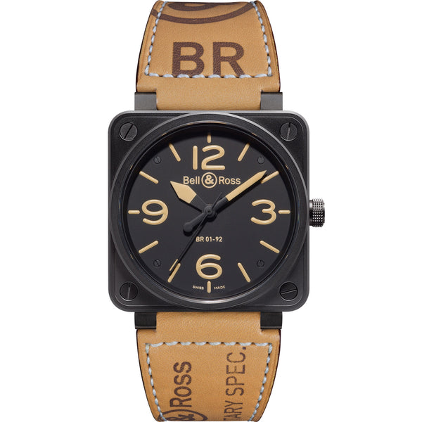 Bell And Ross Watches >> Br 01 92 Heritage