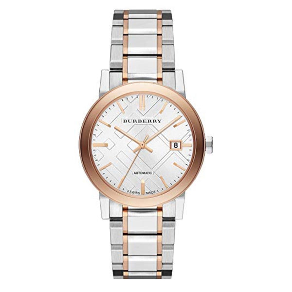 BURBERRY THE CITY TWO TONE 38MM