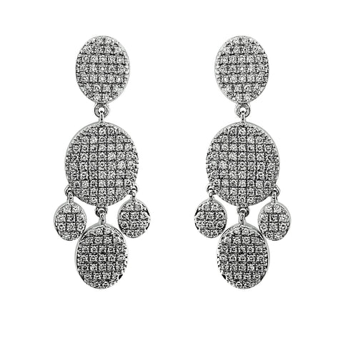 Blaze Diamond Chandelier Earrings -Sterling (1.79 ct. tw.)