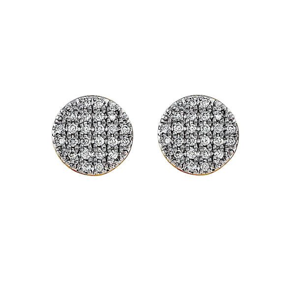 Blaze Lab-Grown Diamond Stud Earrings - 14k Gold Over Sterling Silver (.31 ct. tw.)