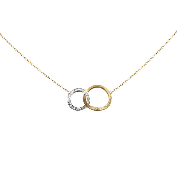 18K Yellow Gold & Diamond Small Pendant