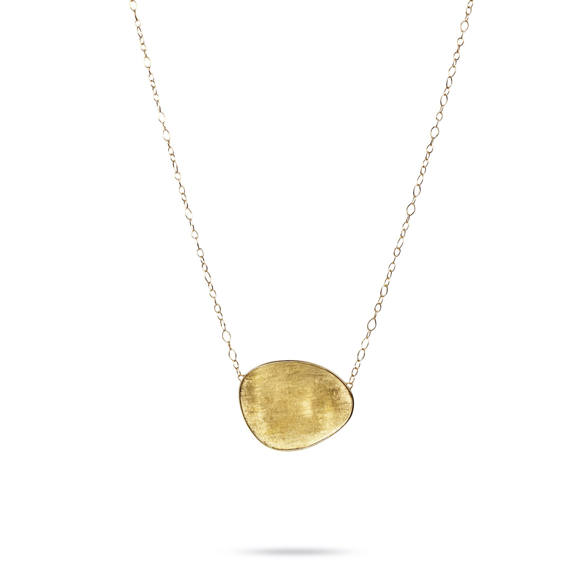 18K Yellow Gold Large Pendant