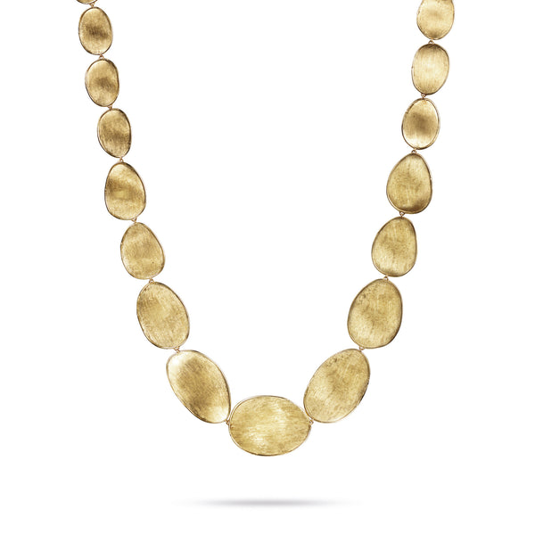 18K Yellow Gold Medium Graduated Collar Necklace