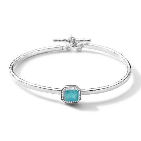 Stella Toglette Bracelet with Diamond and Turquoise