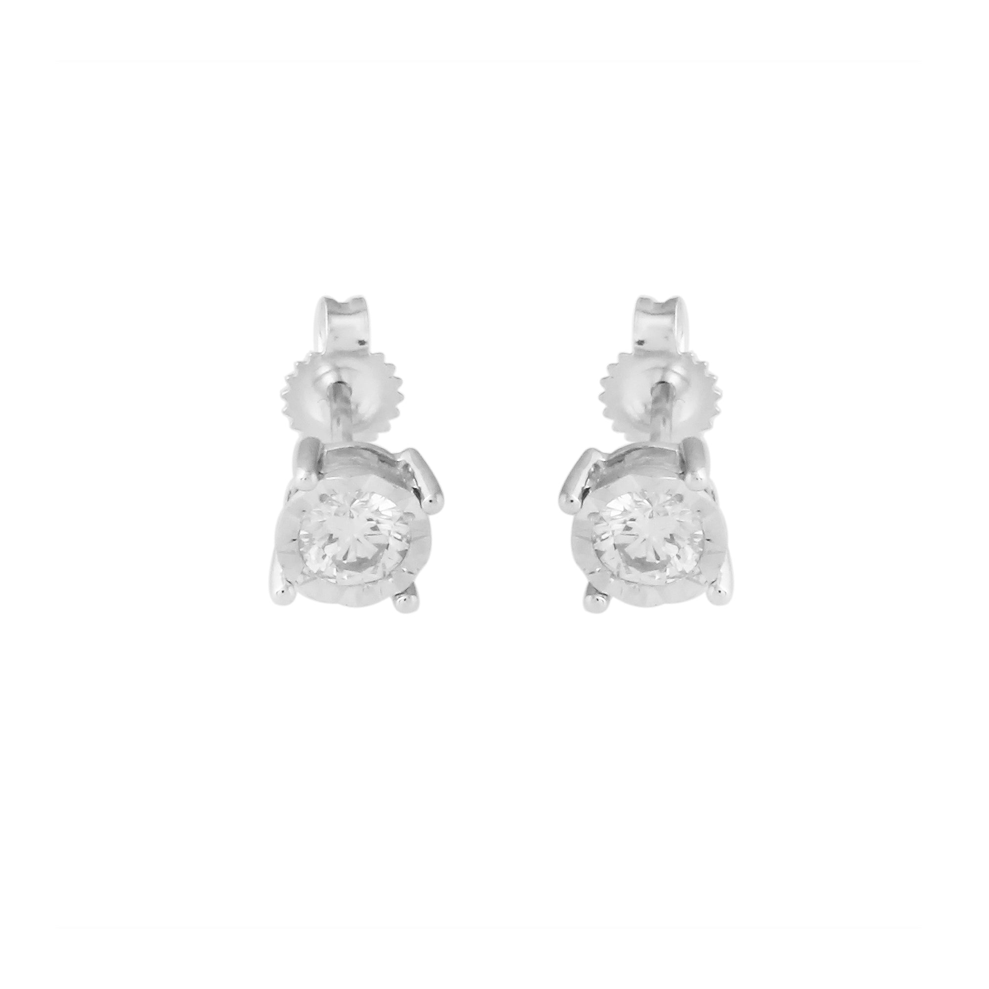 white gold stud running diamond jewellery gucci gg earrings