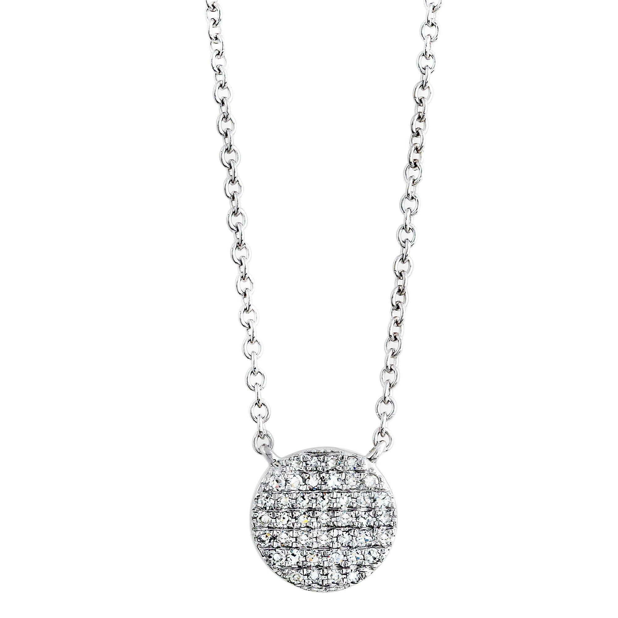 Blaze Lab-Grown Diamond Pendant - Sterling (.32 ct. tw.)