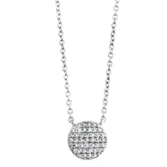 Blaze Lab-Grown Diamond Pendant - Sterling Silver (.32 ct. tw.)