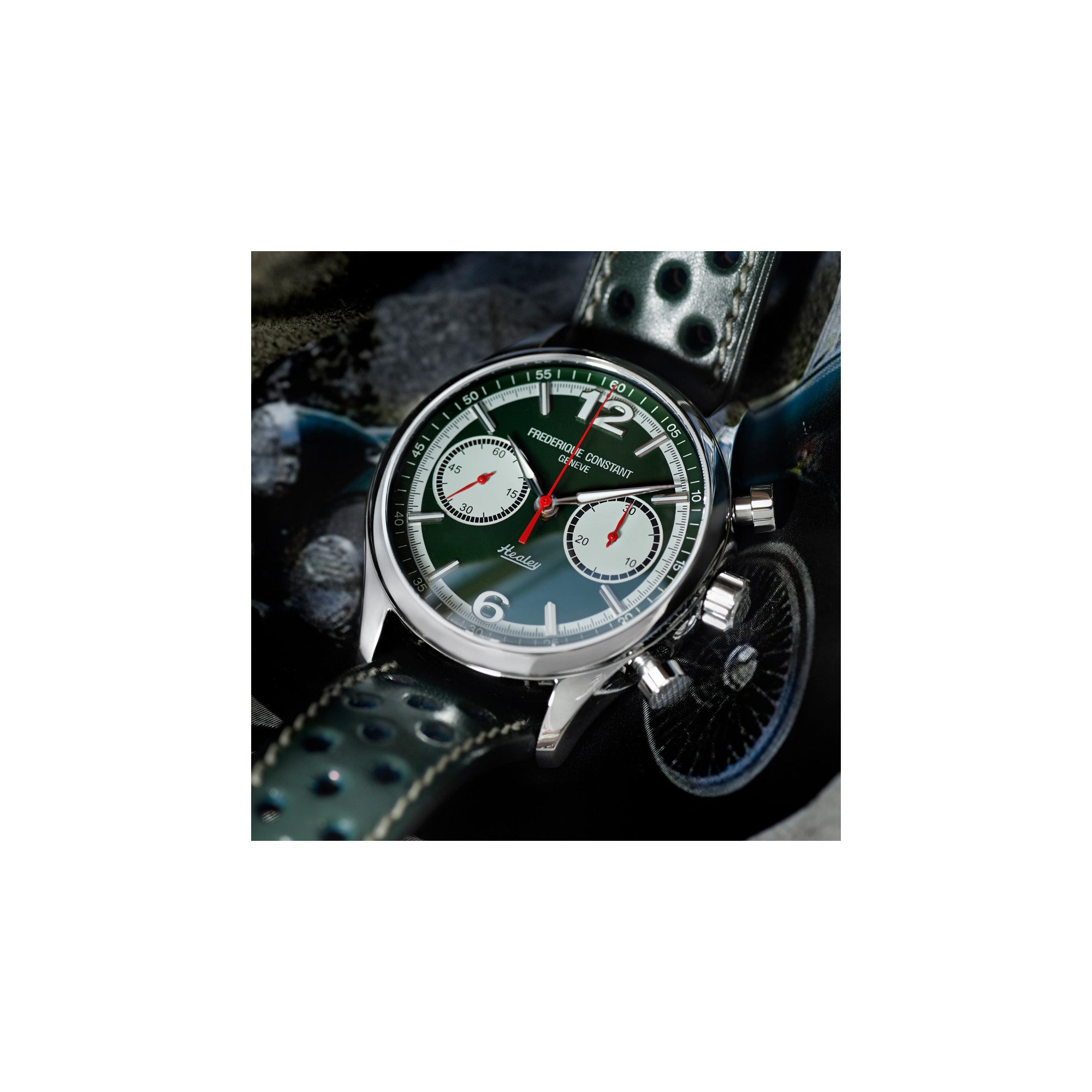 VINTAGE RALLY HEALEY CHRONOGRAPH AUTOMATIC