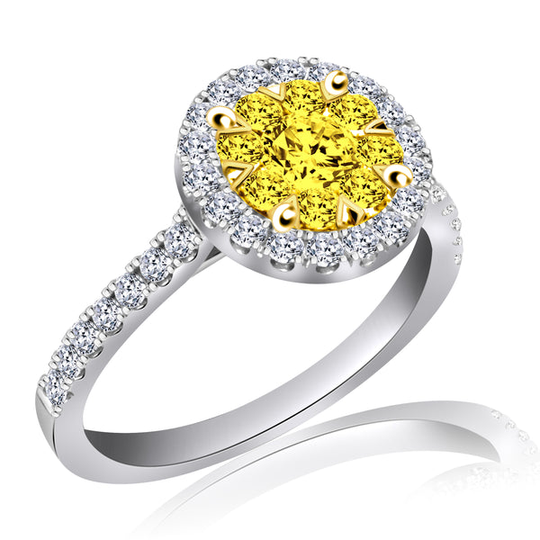 Fancy Yellow Diamond Ring (.75 ct. tw.)