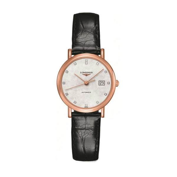 THE LONGINES ELEGANT COLLECTION 29MM GOLD 18K AUTOMATIC