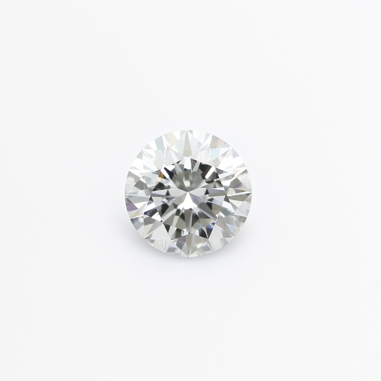 0.55 Carat Round J VVS 2 Lab-Grown Diamond