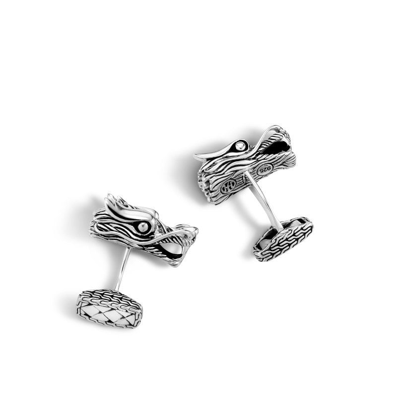 Legends Naga Dragon Head Cufflinks