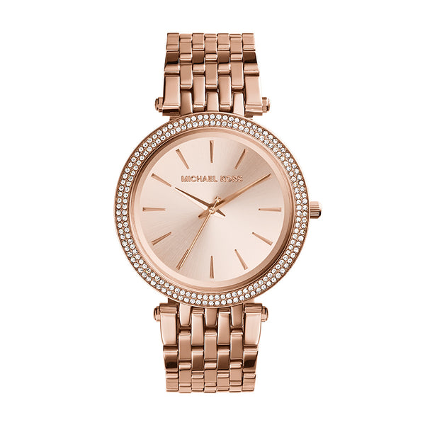Darci Rose Gold-Tone Stainless Steel Bracelet Watch