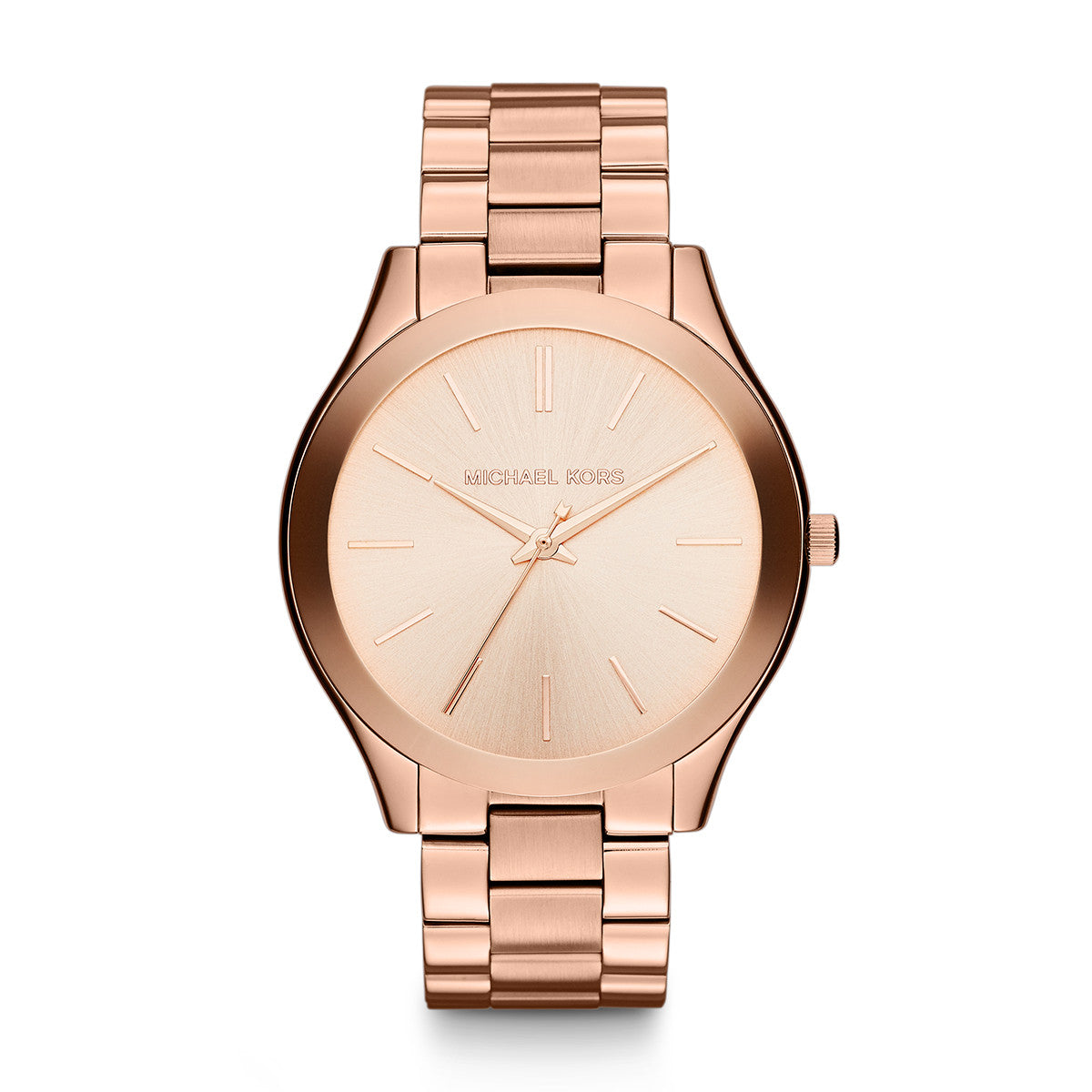 Runway Rose Gold-Tone Stainless Steel Bracelet Watch