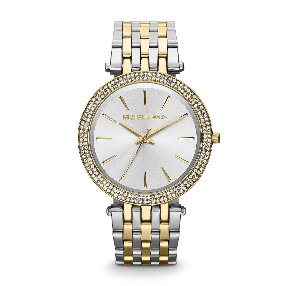 Darci Two-Tone Stainless Steel Bracelet Watch