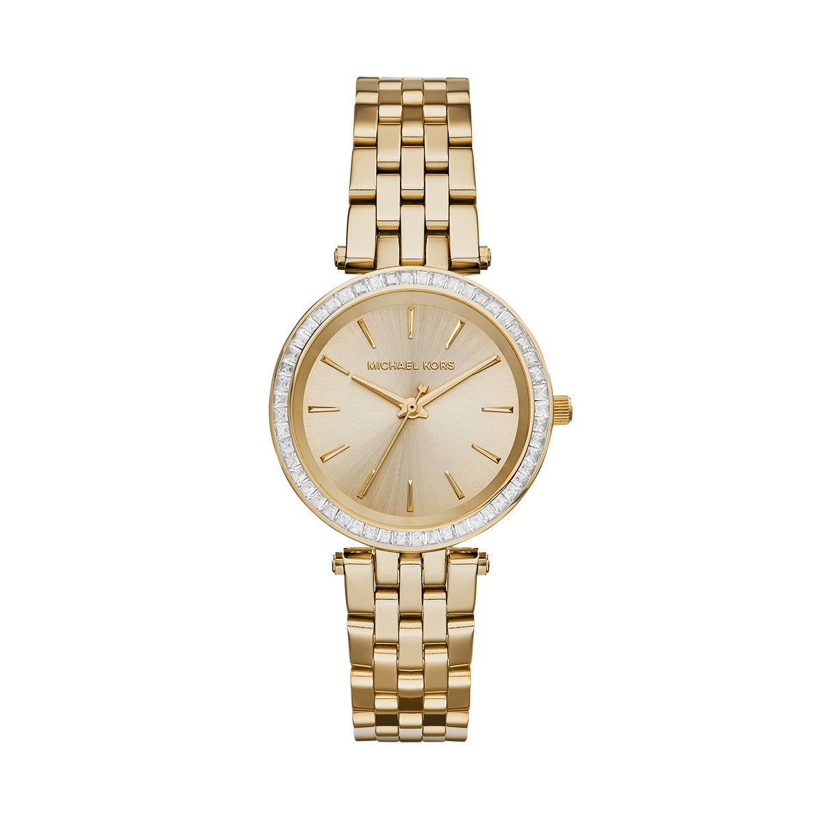 Mini Darci Gold-Tone Stainless Steel Bracelet Watch