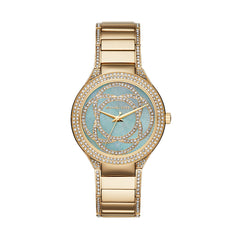 Kerry Gold-Tone 3 Hand Watch