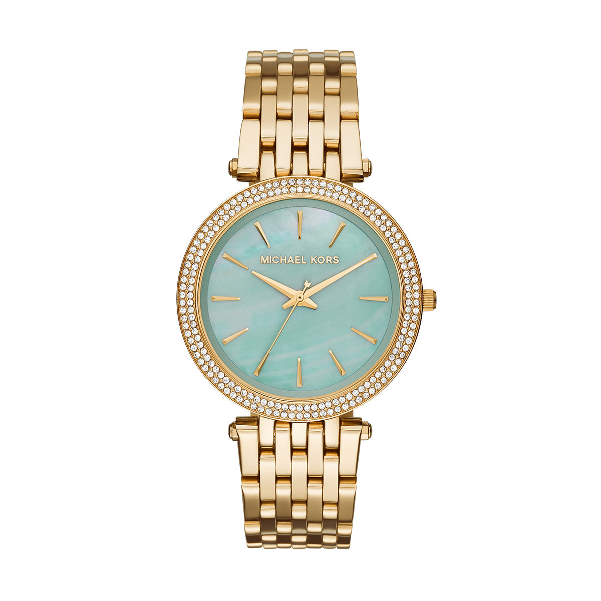 Darci Gold-Tone 3 Hand Watch