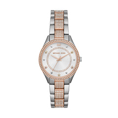 Mini Lauryn Pavé Two-Tone Watch
