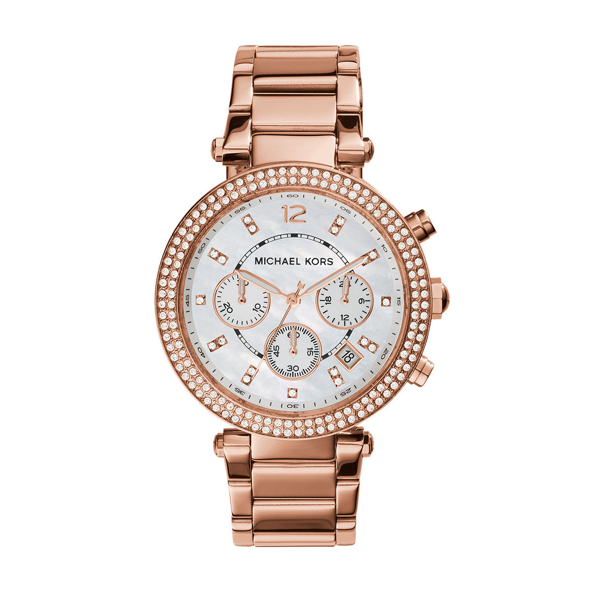 ec2fdf00ba78 Parker Rose Gold-Tone Stainless Steel Watch – Little Switzerland
