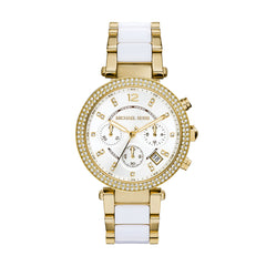Parker Pave Gold-Tone Acetate Watch