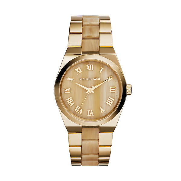 Channing Horn and Gold-Tone Stainless Steel Watch