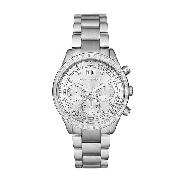 Chronograph Brinkley Stainless Steel Bracelet Watch