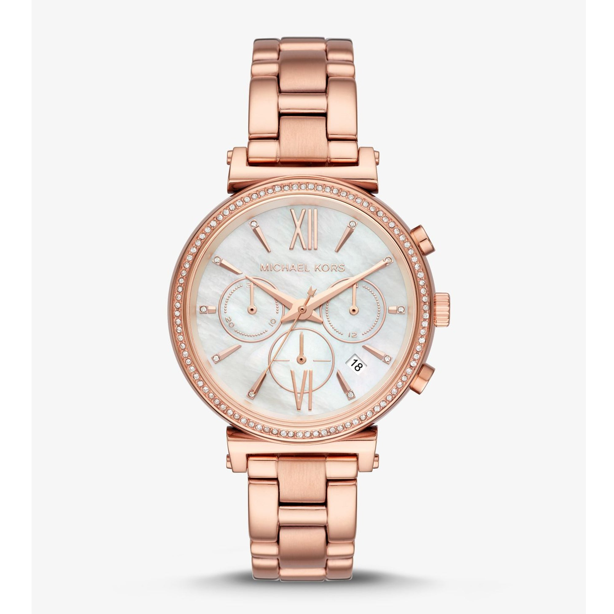 Sofie Pavé Rose Gold-Tone Watch