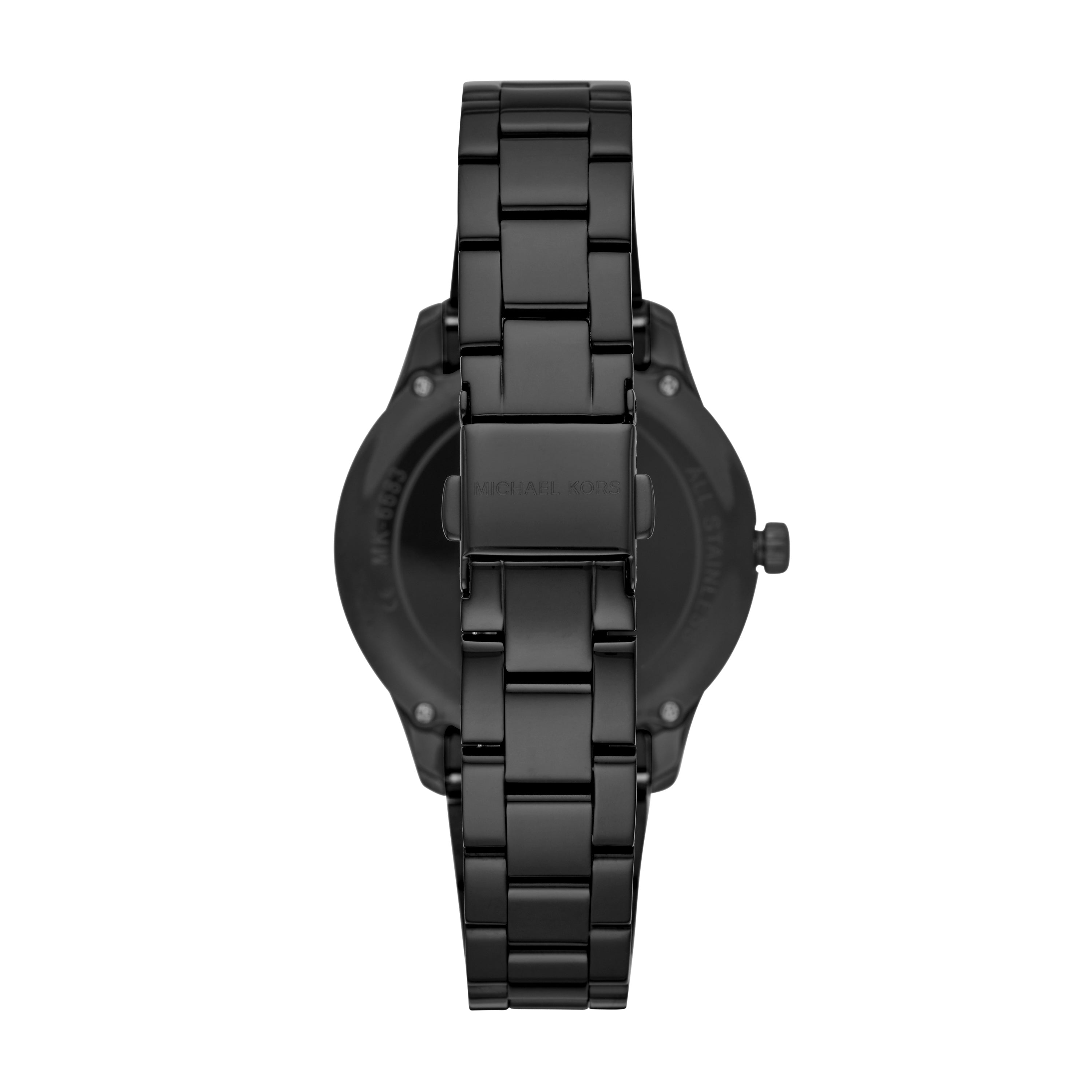 Runway Black-Tone Watch