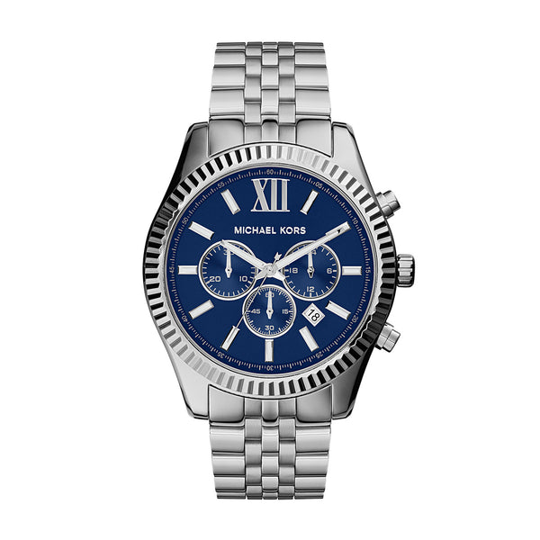 Men's Lexington Blue Dial Chronograph Watch