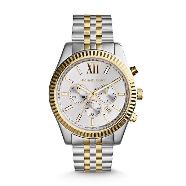 Lexington Silver and Gold-Tone Watch