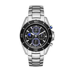 Jetmaster Silver-Tone Watch