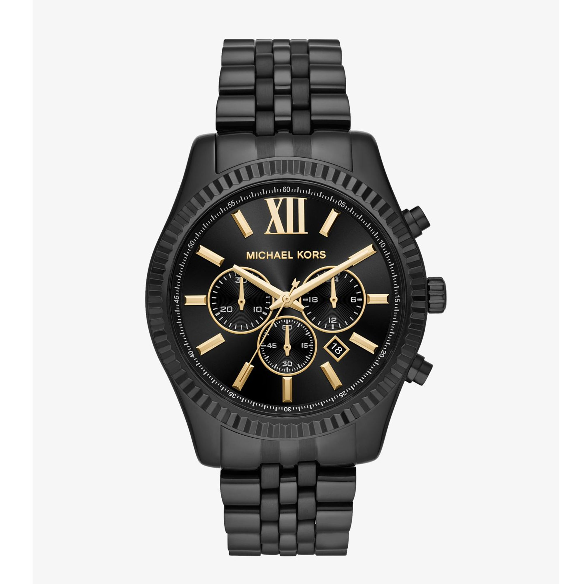 Lexington Black-Tone Watch