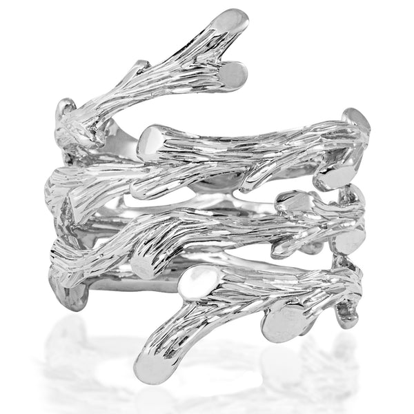 ENCHANTED FOREST SPIRAL TWIG RING