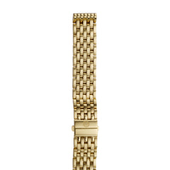16mm Deco 16 7-Link Gold Bracelet