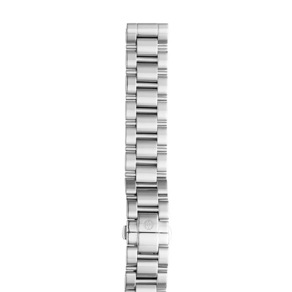 18mm Deco 3-Link Stainless Steel Bracelet