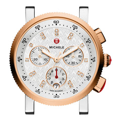 Sport Sail 18 Two-Tone Rose Gold, Diamond Dial
