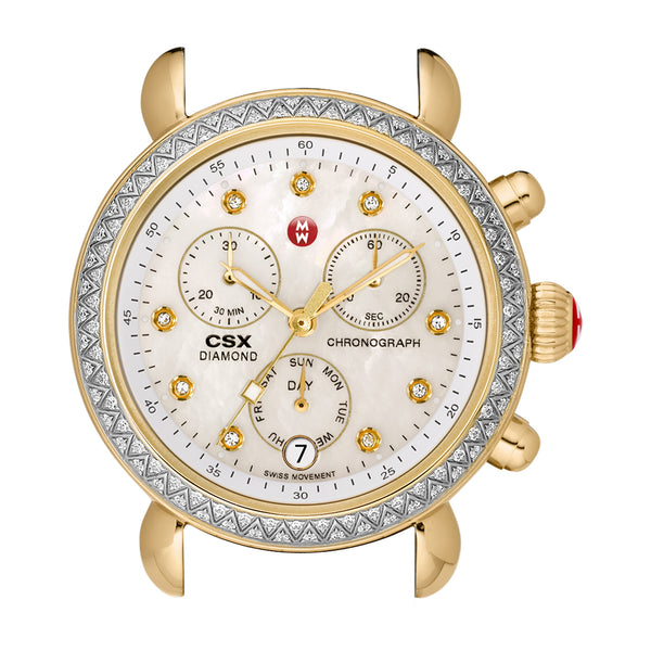 CSX Day Diamond Two Tone and Diamond Dial Watch Head