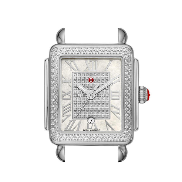 Deco Madison Mid Stainless-Steel Diamond Dial