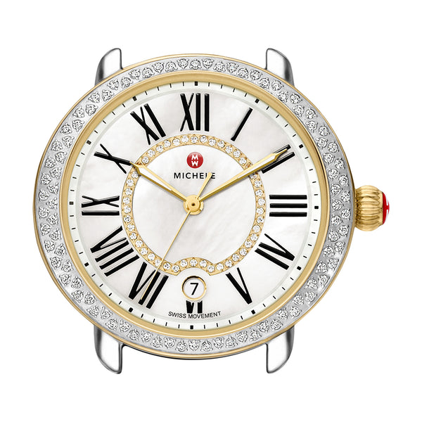Serein 16 Two-Tone Diamond, Diamond Dial Watch Head