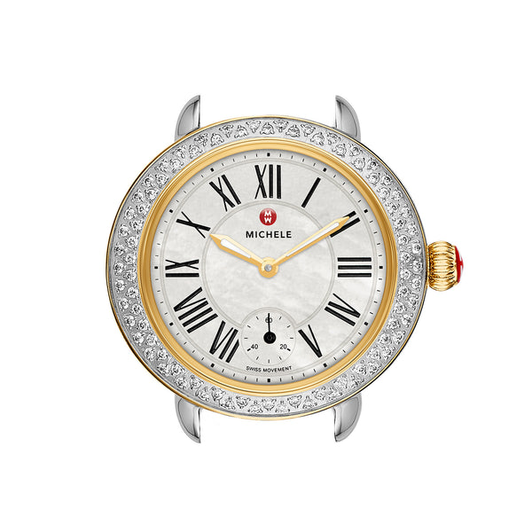 Serein 12 Diamond Two Tone Quartz Watch Head