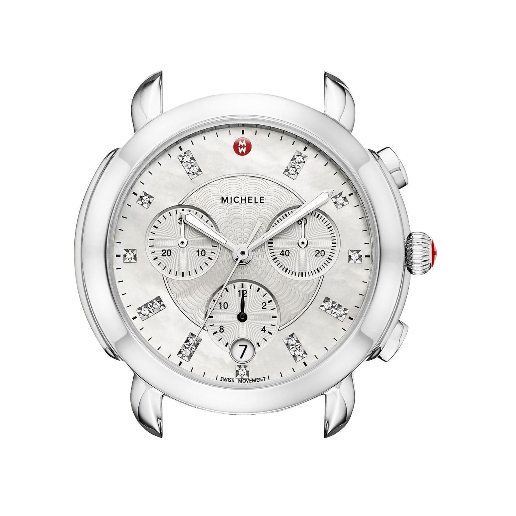 Sidney Stainless-Steel Diamond Dial