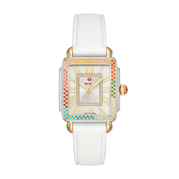 Deco Madison Mid Carousel Two-Tone Diamond Watch