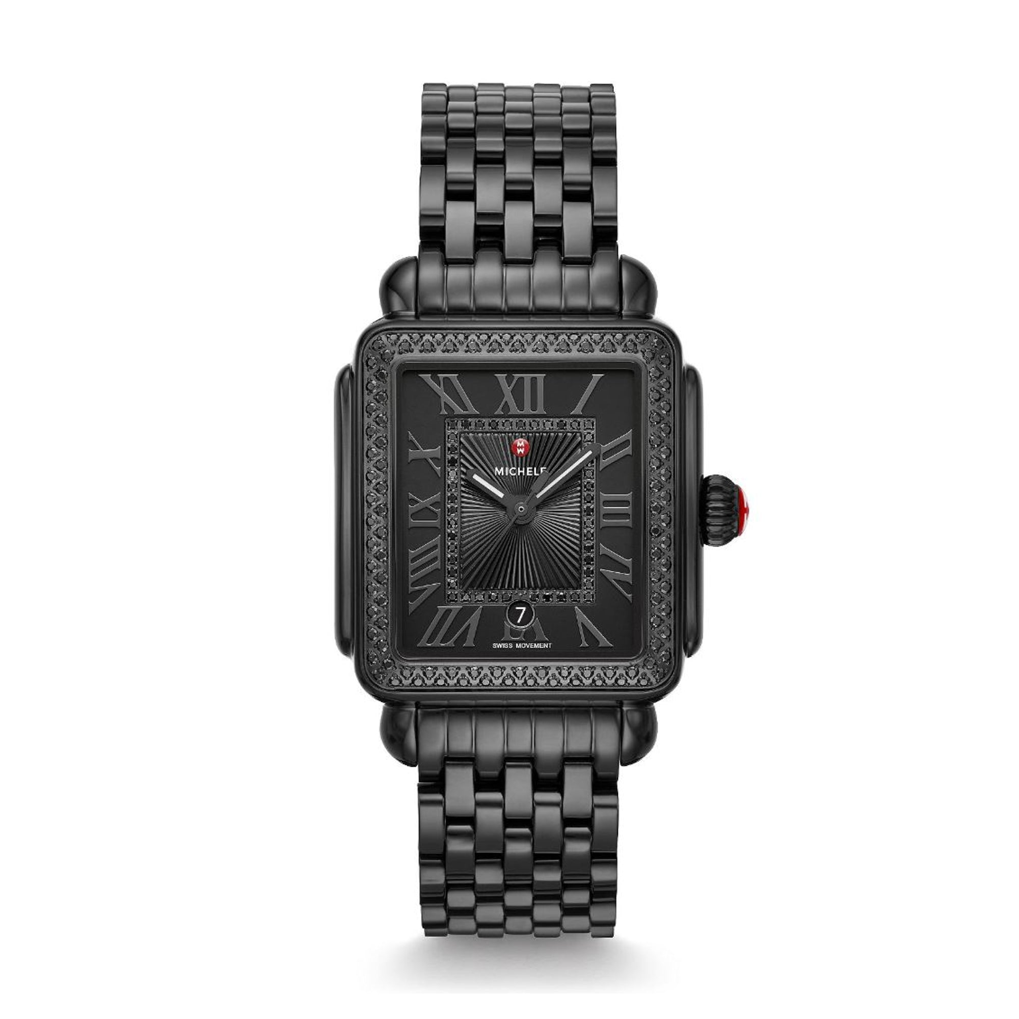Deco Madison Noir Diamond Watch