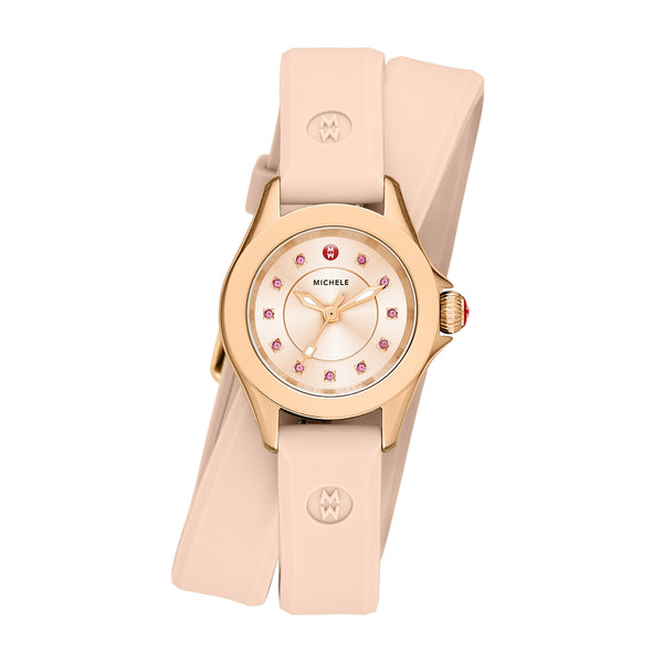 Cape Mini Rose Gold Tone Blush Pink Watch