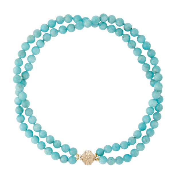 The Victoire Amazonite Necklace