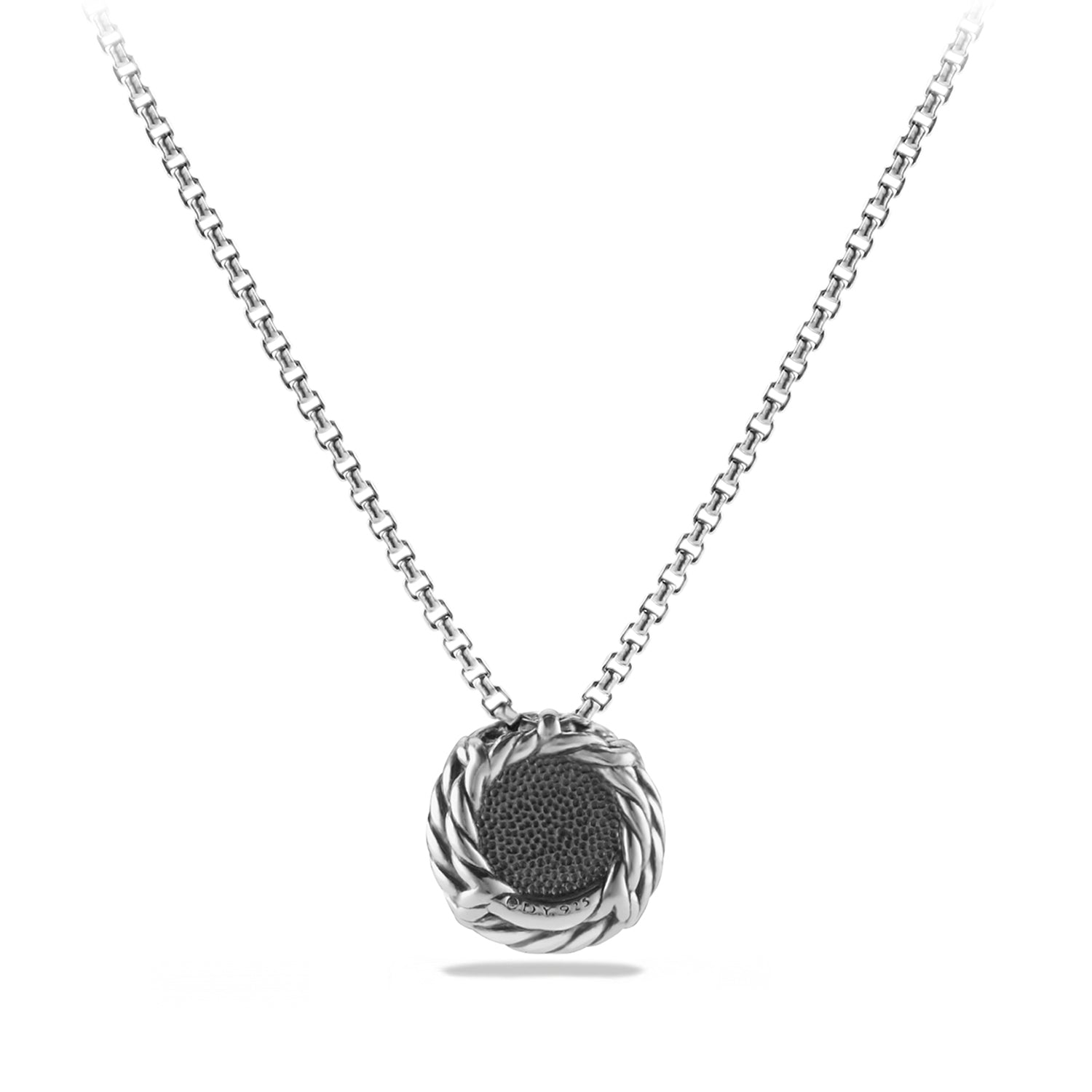 Chatelaine Pendant Necklace with Black Onyx