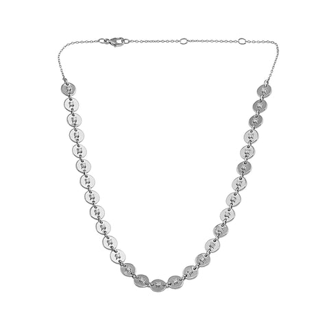 Phoenix Lab-Grown Diamond Choker - Sterling (.69 ct. tw.)