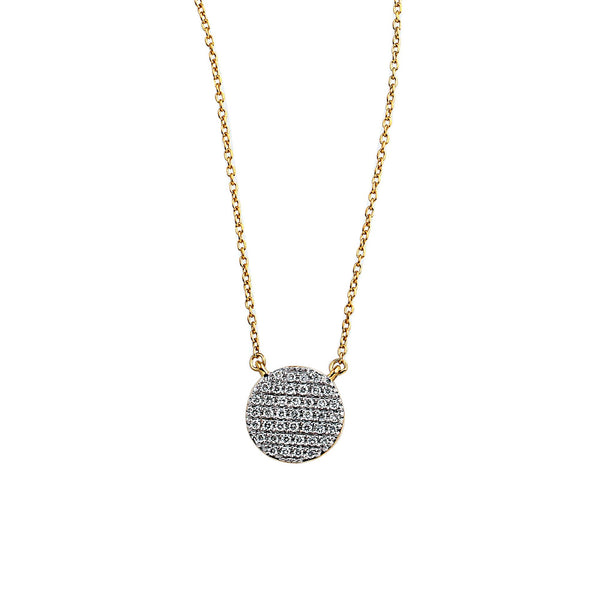 Blaze Lab-Grown Diamond Pendant - 14k Gold Over Sterling Silver (.32 ct. tw.)